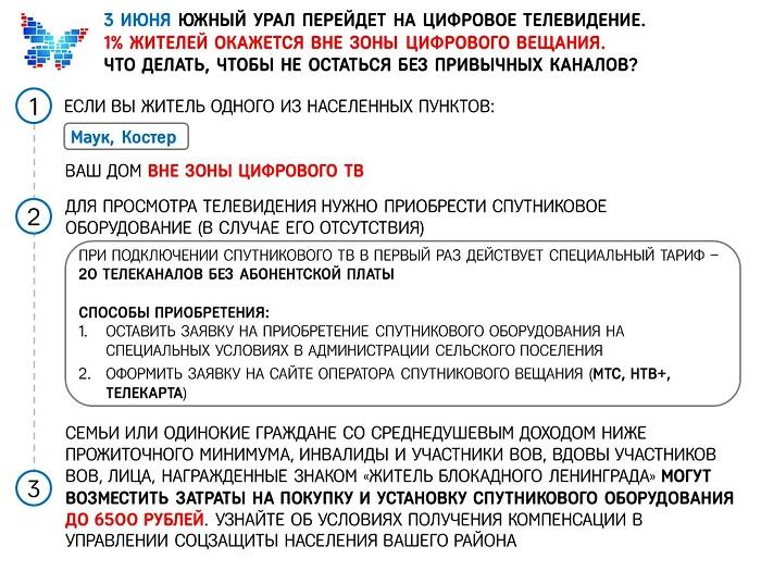 Листовка вне ЦТВ Каслинский