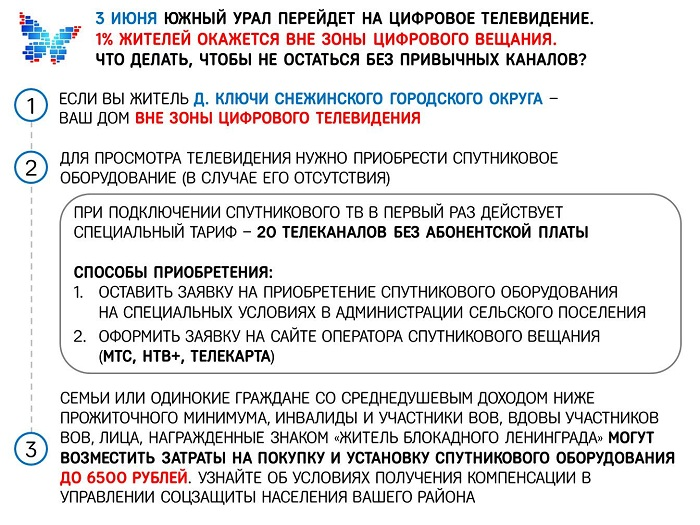 Листовка вне ЦТВ Снежинск