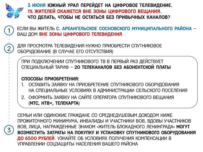 Листовка вне ЦТВ Сосновский